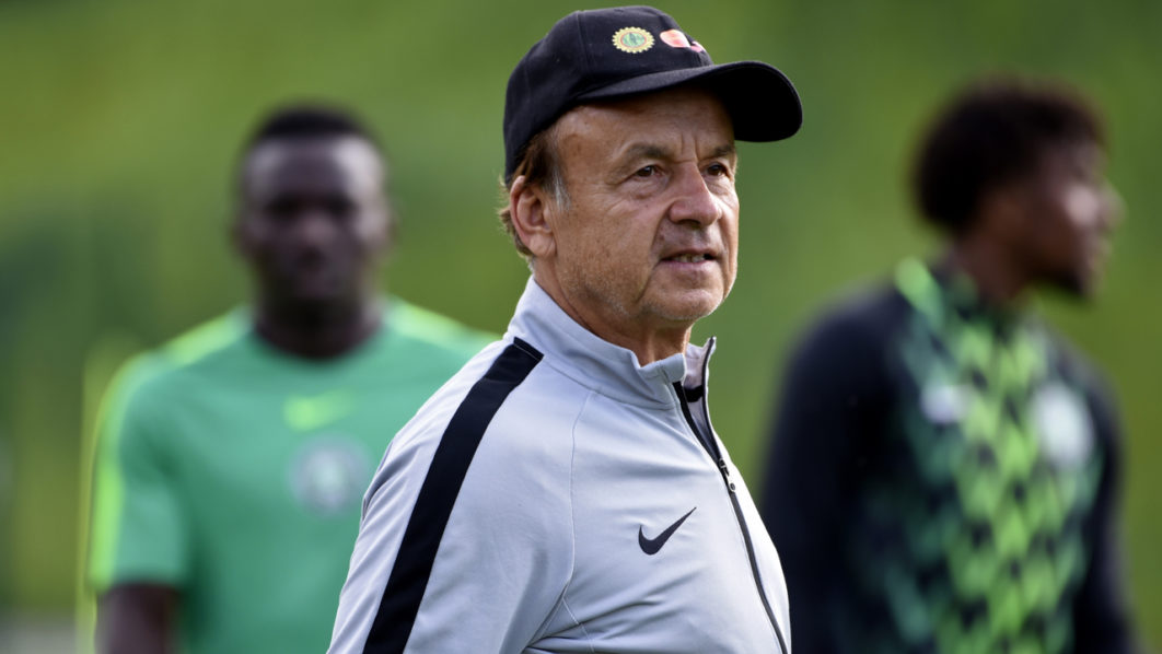 Goalkeeper headache for Rohr as Afelokhai saves Musa's penalty in Eagles training