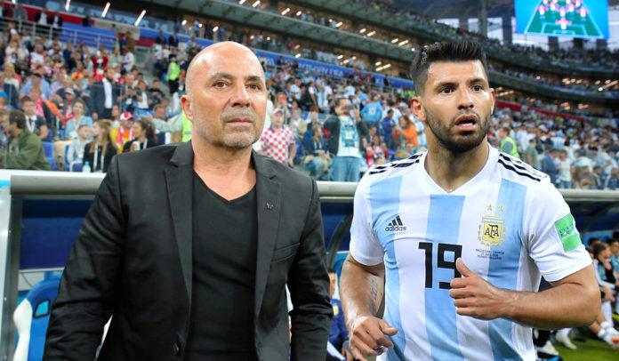 Argentina camp in crisis as Aguero slams Coach Sampaoli