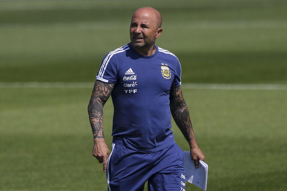 Coach Sampaoli's plans for Argentina vs Super Eagles leaked