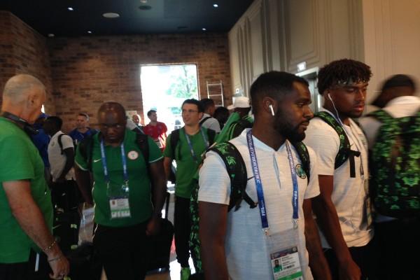 Super Eagles arrive Kaliningrad in time for Croatia World Cup opener