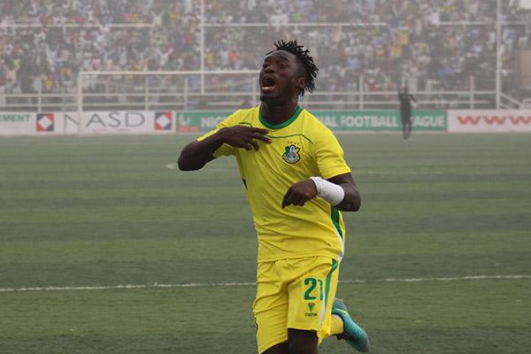 Lokosa scores Goal No.19 In Kano Pillars Draw vs Rivers United