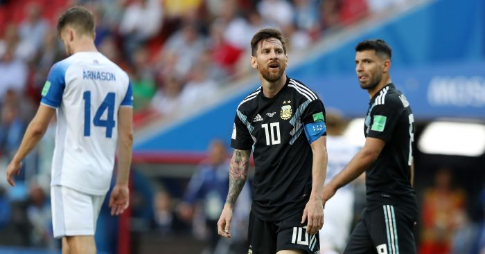 Messi misses Penalty as debutants Iceland hold Argentina to a memorable 1-1 draw