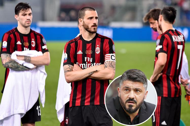 AC Milan banned from European football for one season