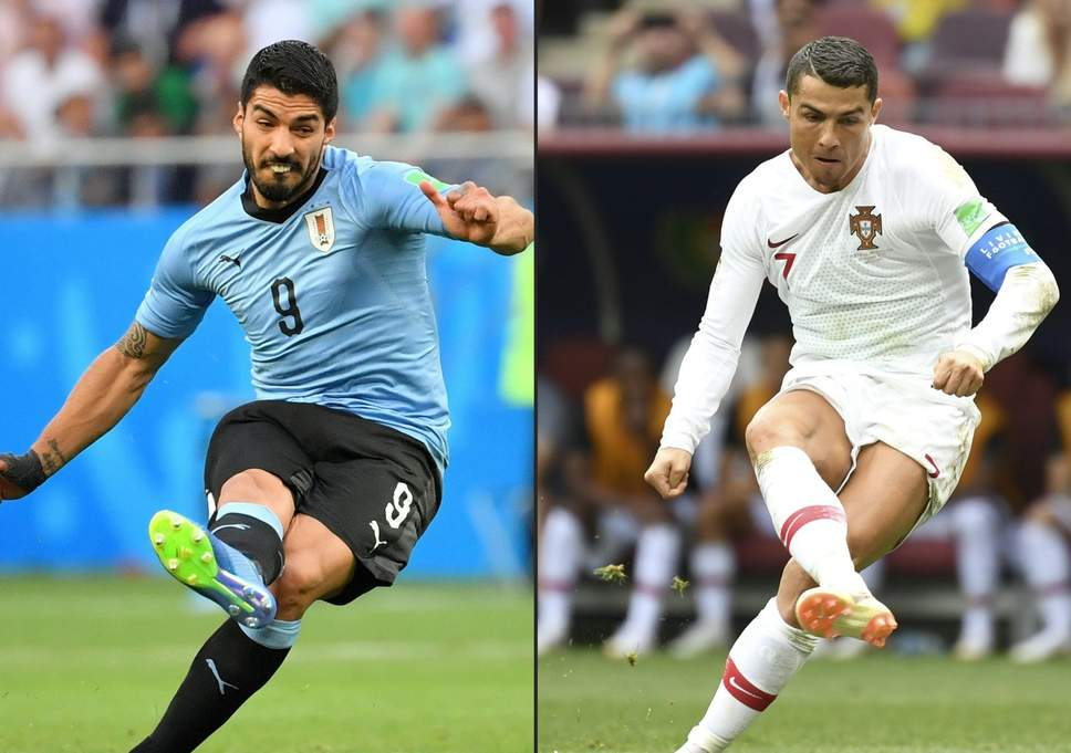 Portugal vs Uruguay: Ronaldo to start up front in changed 4-4-2 formation
