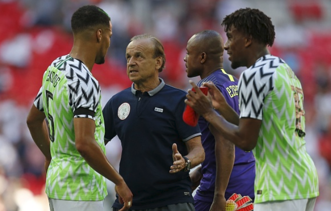 "Rohr wants Super Eagles to Respond with ""Positive Anger"" after poor Friendlies"