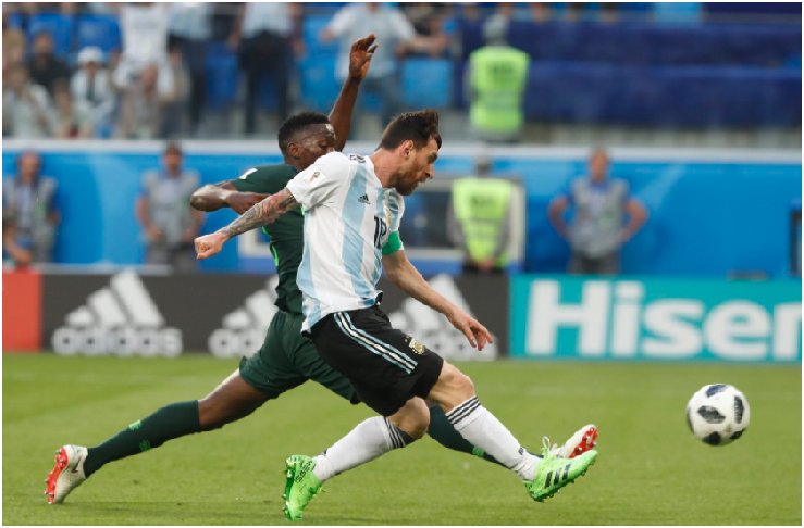 "Messi wore a ""Lucky Charm"" in dramatic win over Nigeria"