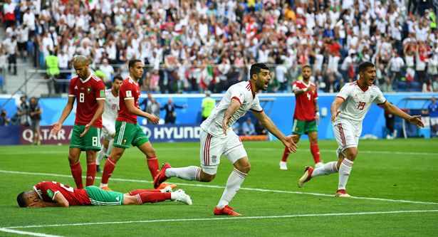 Morocco 0-1 Iran: Aziz Bouhaddouz own goal gifts Iran late win