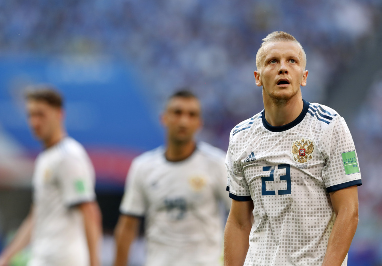 Uruguay hands Host Russia first World Cup defeat with 3-0 win