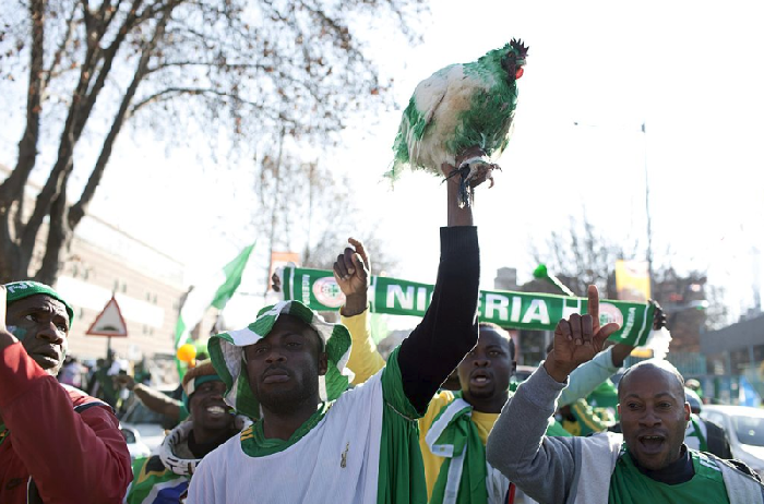 Russian Govt Stops Nigerians from performing 'Lucky Chicken' Ritual vs Croatia