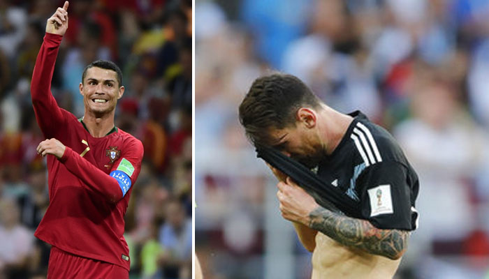 Ronaldo 1-0 Messi: Ronaldo shines, Messi flop in World Cup duel