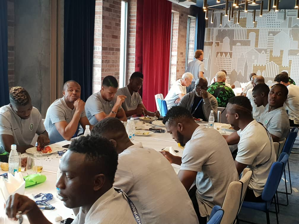 NFF Boss Pinnick confident of Eagles victory against Croatia