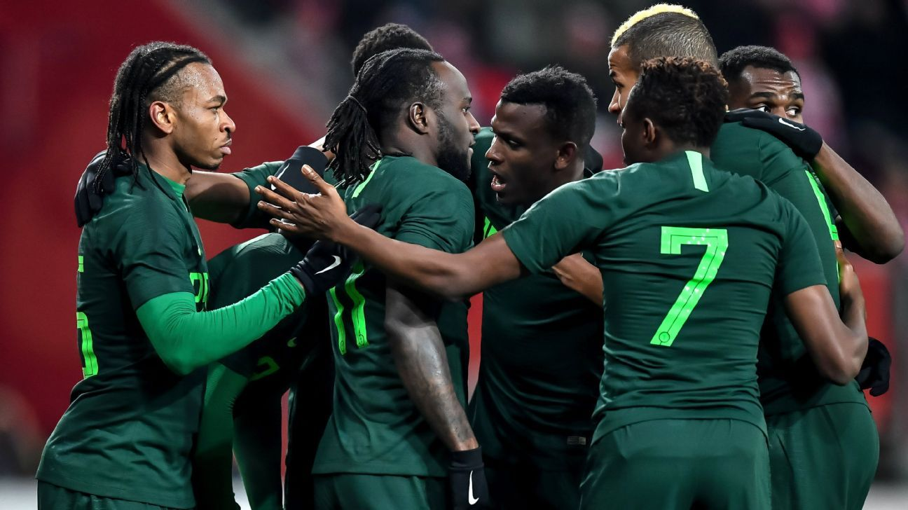 Super Eagles players get new jersey numbers ahead of Russia 2018 World Cup 5232ca256
