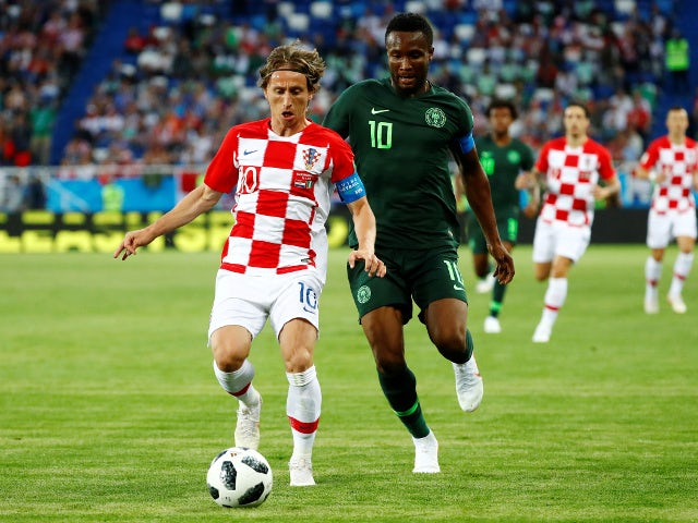 Croatia go top of Group D with comfortable 2-0 win over Eagles