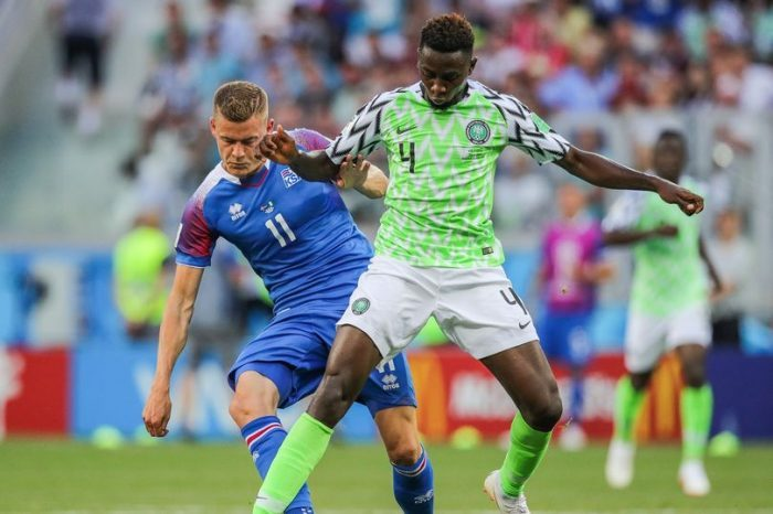 Ndidi won most tackles & Interceptions in 2018 World Cup Group games