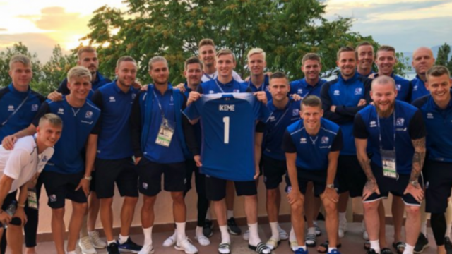Eagles World Cup foe Iceland make heartwarming support for Carl Ikeme