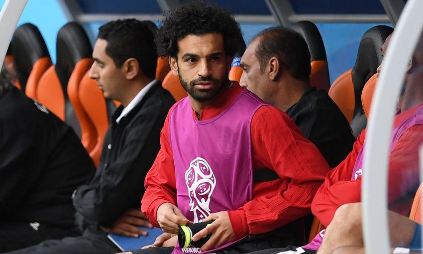 Mohamed Salah set for Egypt return against Russia