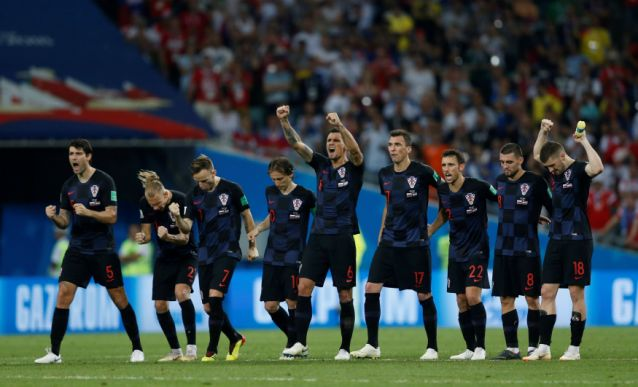 Croatia will face England in World Cup semifinals after beating hosts Russia on penalties