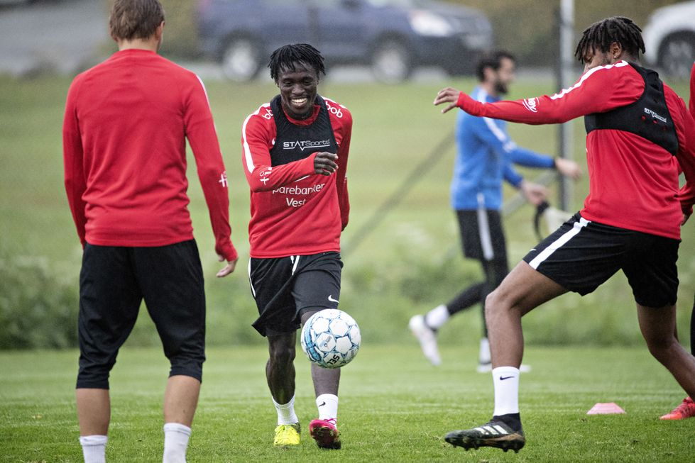 Junior Lokosa shines in SK Brann trial