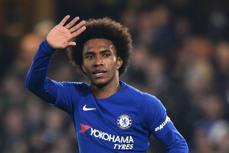 Willian no gree sign chacha contract with Chelsea