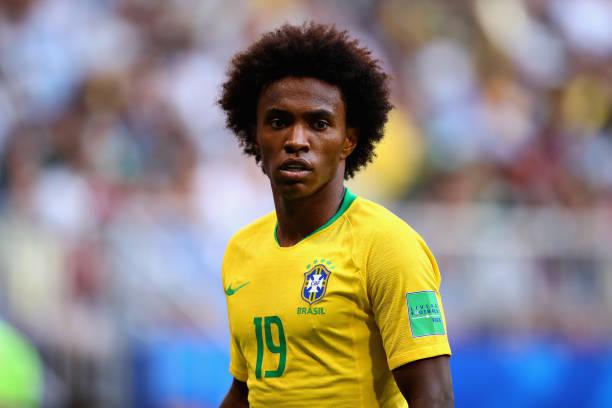 Chelsea reject £55m bid from Barcelona for Brazilian star Willian
