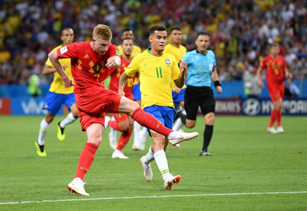 Belgium knock out Brazil to reach World Cup semi-finals
