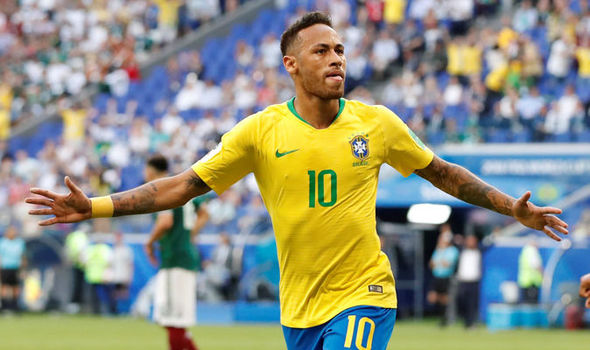 Neymar shines as Brazil beat Mexico 2-0