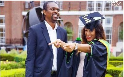 Kanu & wife, Amara celebrate 14th Wedding Anniversary in London