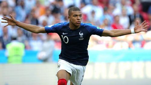Mbappe wins World Cup Young player award