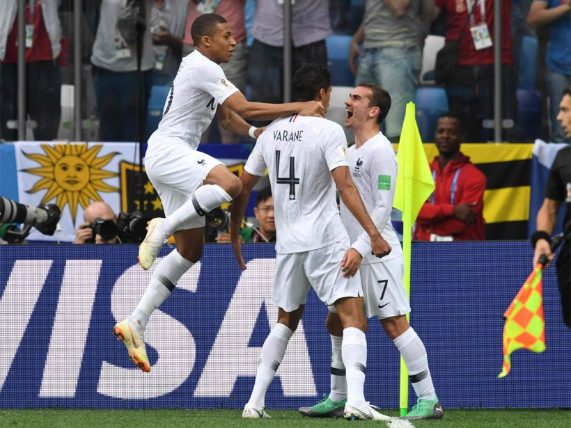 FT – France beat Uruguay 2-0 to enter Semifinals