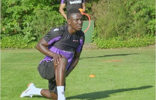 Good First day! Etebo shares Stoke City excitement, to wear Jersey Number 8