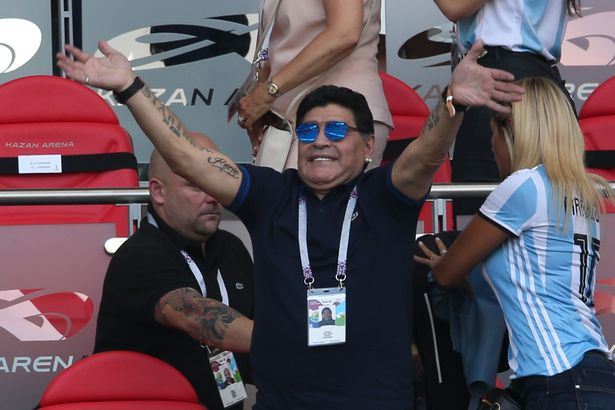 Diego Maradona apologises to FIFA over anti-Referee rant