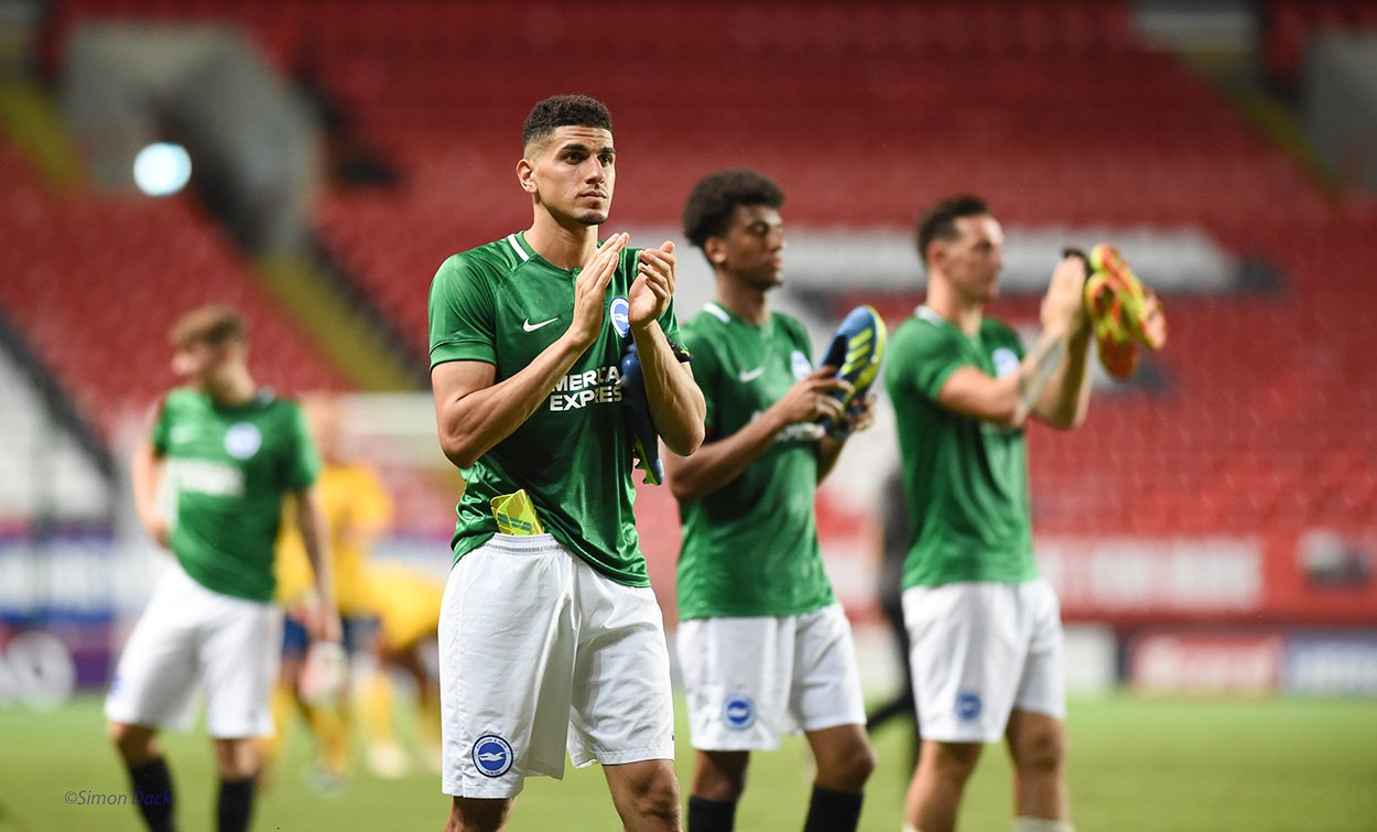 Leon Balogun made Brighton debut in pre-season draw with Charlton