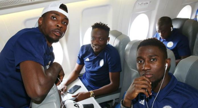 Eagles trio Ndidi, Musa, Iheanacho arrive Austria for Leicester's Pre-season tour