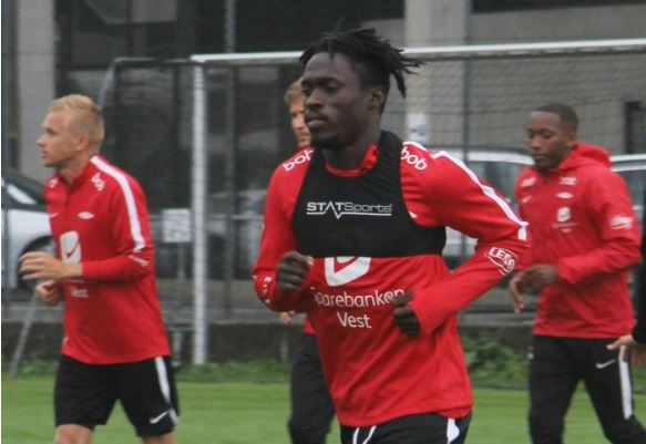 Just In! Lokosa leaves Norwegian club SK Brann without any contract