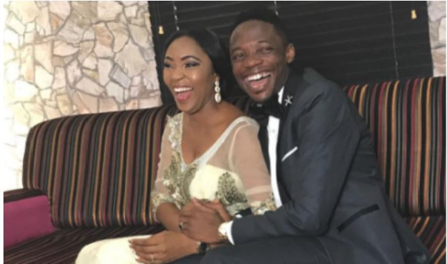 Ahmed Musa welcomes Baby boy with second Wife, Juliet