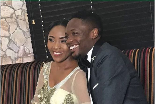Ahmed Musa marks First wedding anniversary with second wife, Juliet