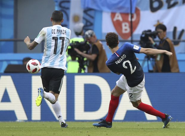 Pavard's long-range stunner vs Argentina named goal of the World Cup