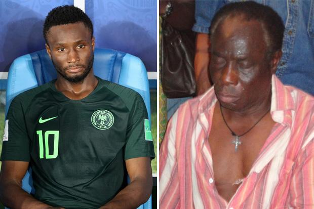 Mikel Obi: 'I played against Argentina while my father was in Kidnappers Den'