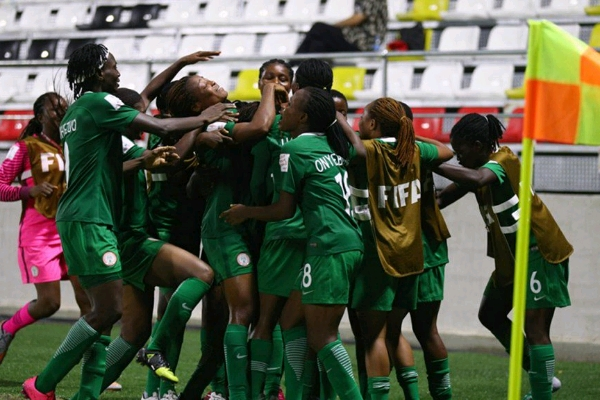 River Angels' midfielder Mary Saiki drums support for Falconets ahead World Cup