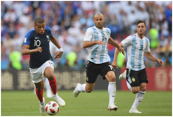 France Wonderkid, Kylian Mbappe sends Mascherano into Retirement