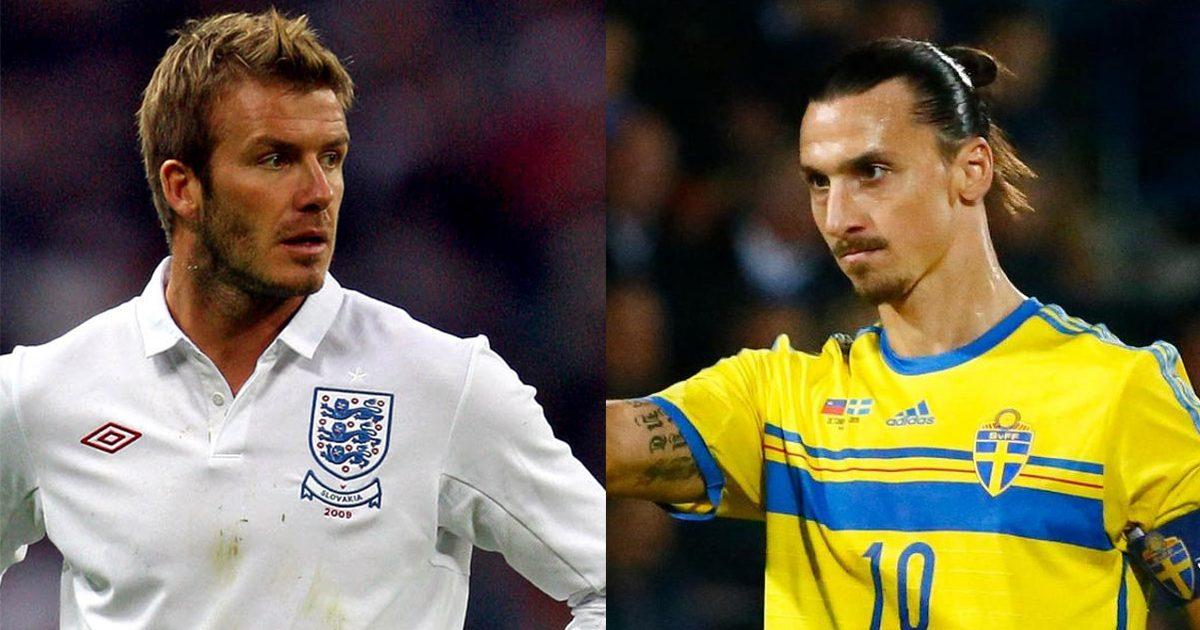 Ibrahimovic to honour David Beckham bet and wear England shirt at Wembley
