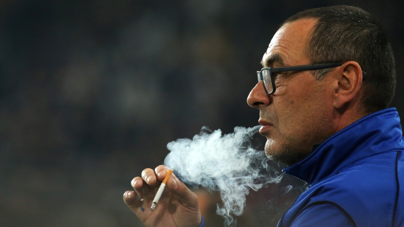 Maurizio Sarri prepares to take over as Chelsea Manager