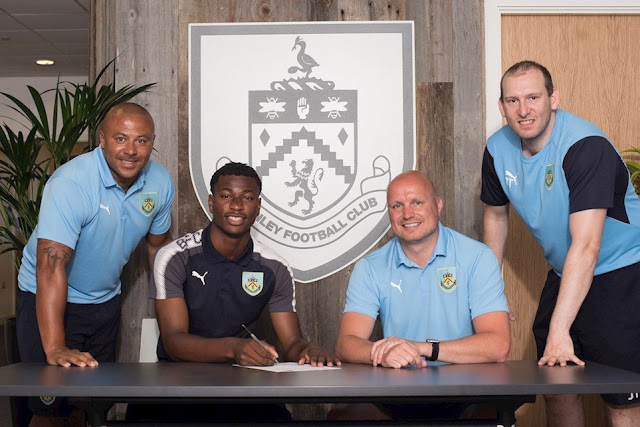 Burnley signs 18 year old Nigerian defender