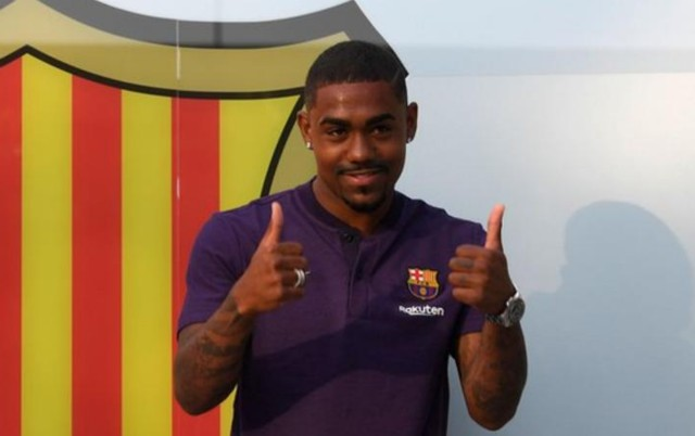 Dembele could leave Camp Nou as Brazilian star Malcom joins Barcelona