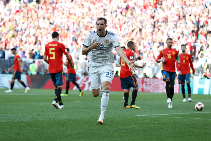 Extra Time: Spain 1-1 Russia
