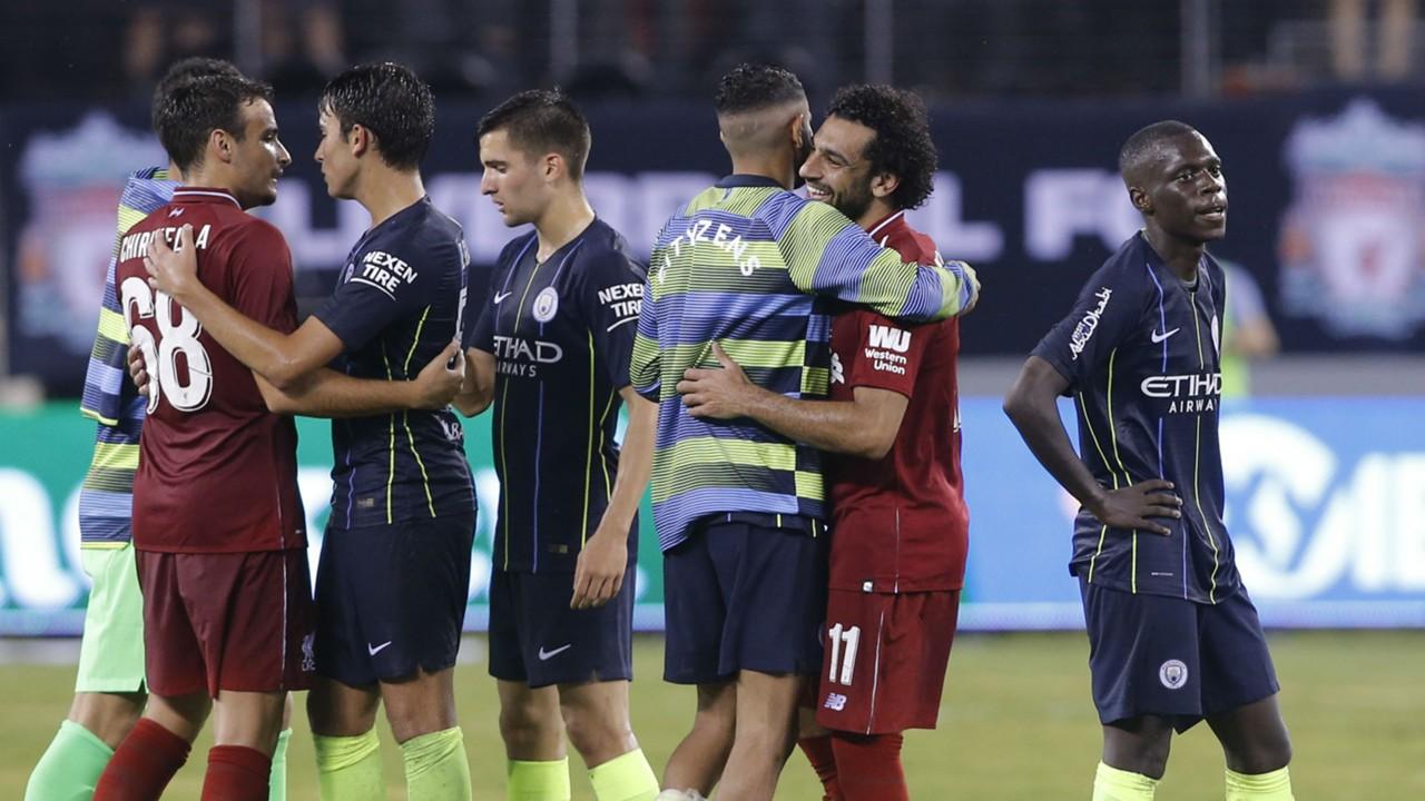 ICC 2018: Mo Salah and Sadio Mane on target as Liverpool beat Man City 2-1