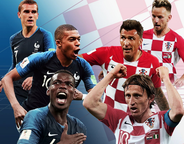 France vs Croatia final confirms Europe's World Cup dominance