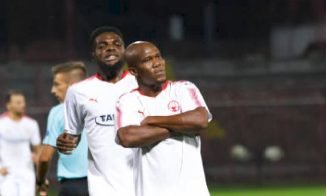 Hapoel Be'er Sheva in UCL winning start without Nigerian Duo