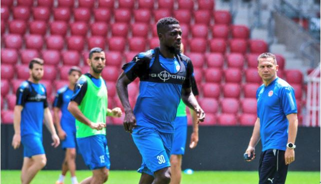 John Ogu targets more Honors with Hapoel Be'er Sheva