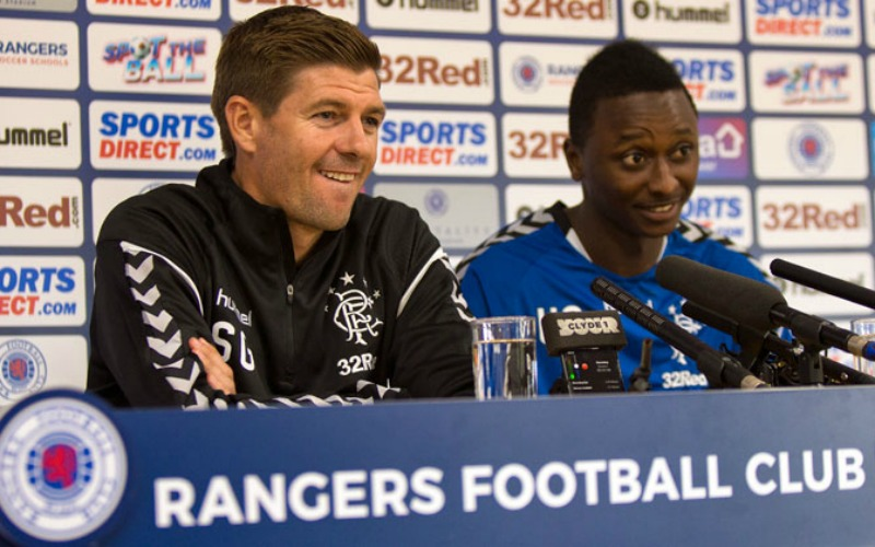 Umar Sadiq couldn't resist chance to work with Gerrard at Rangers